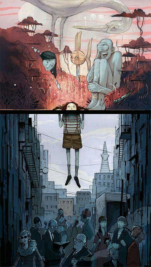 escaping a life