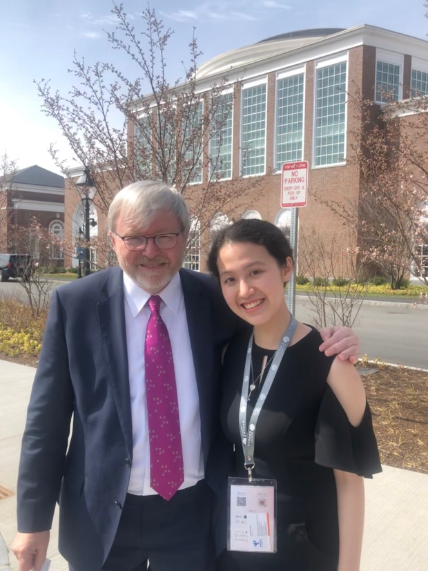 Kevin Rudd at Harvard China Forum