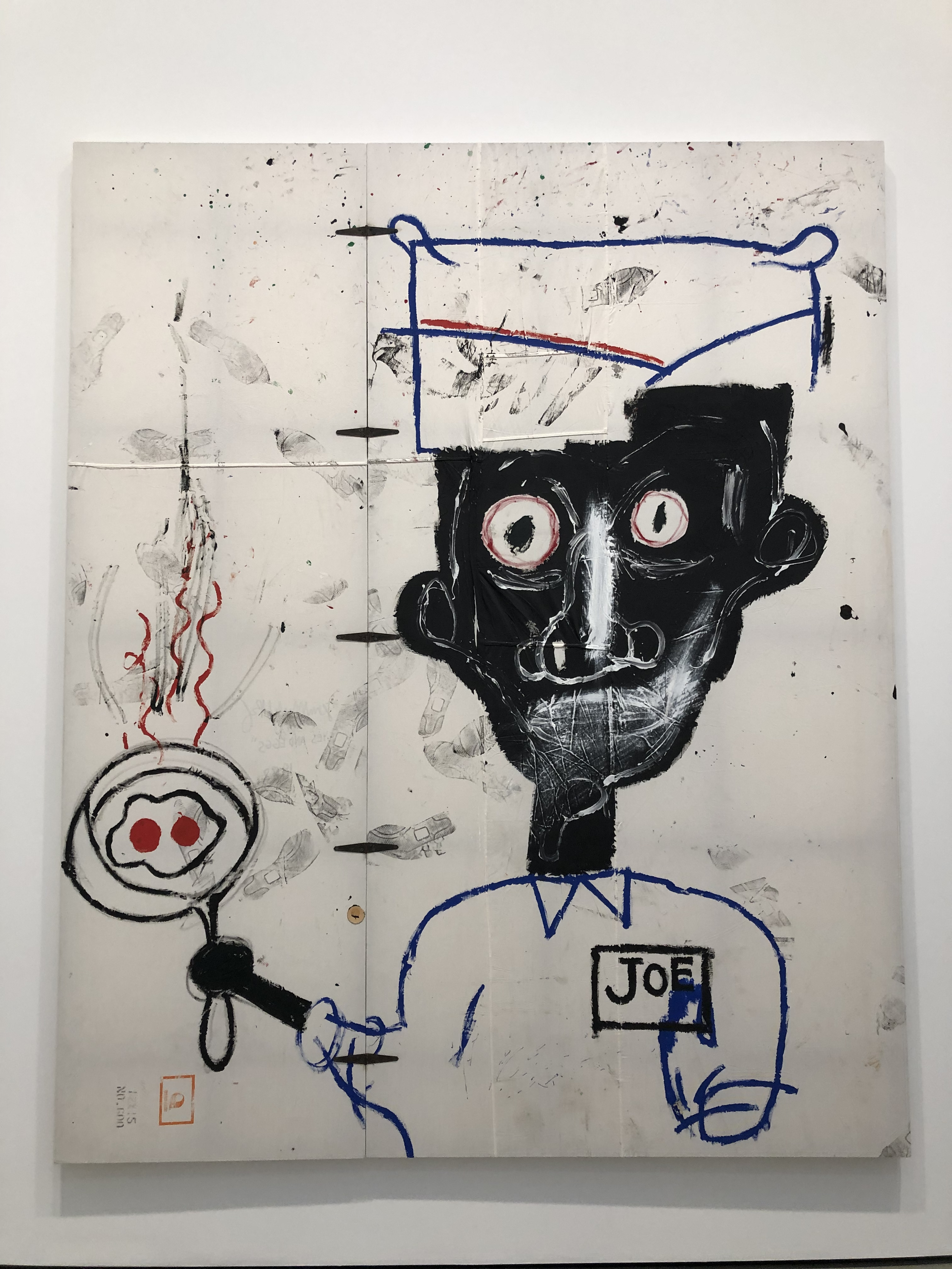 Eyes and Eggs JEAN‐MICHEL BASQUIAT