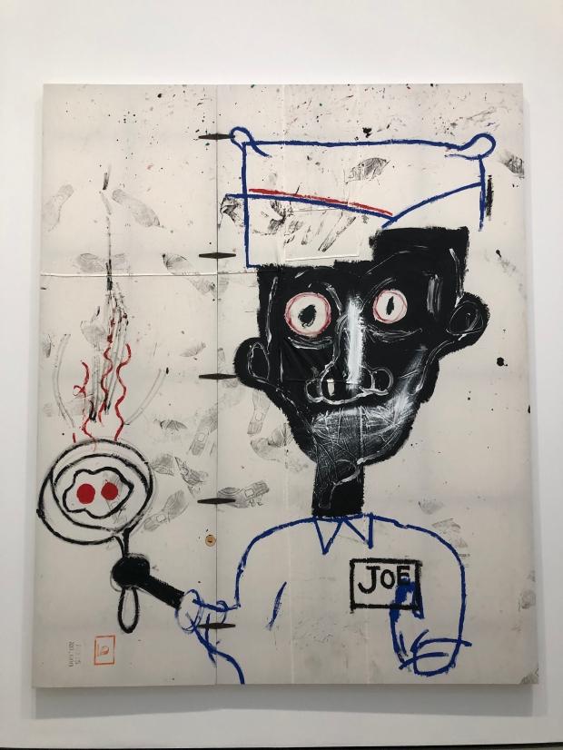 Eyes and Eggs JEAN‐MICHEL BASQUIAT