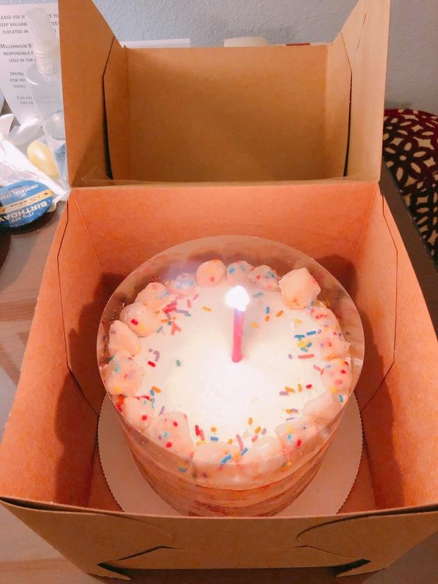 Selina Xu Birthday Cake