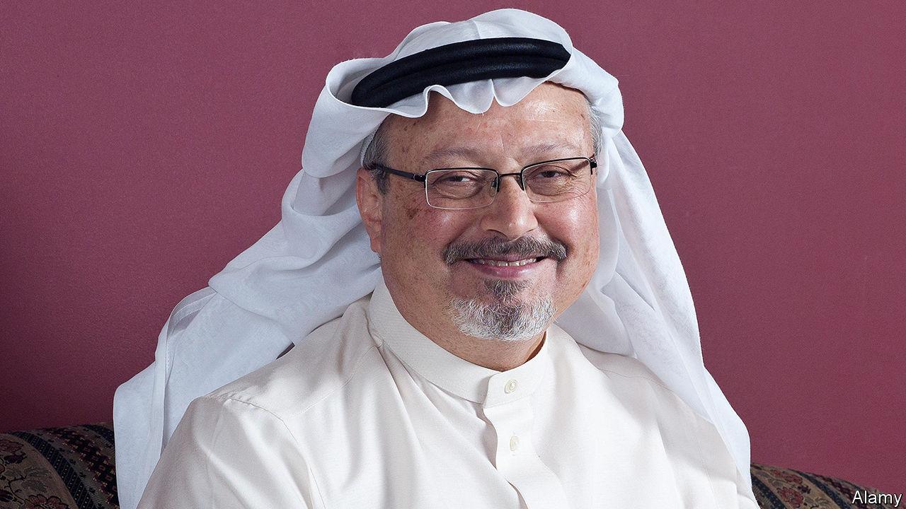 Jamal Khashoggi The Economist