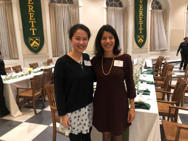 Maya Jasanoff Faculty Dinner