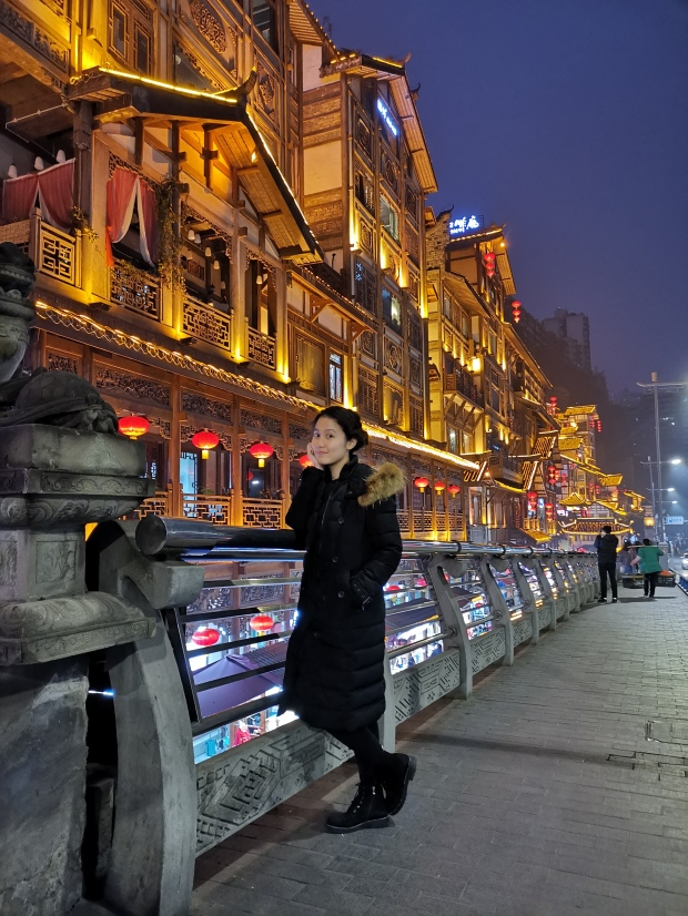 Selina Xu Hongyadong 洪崖洞