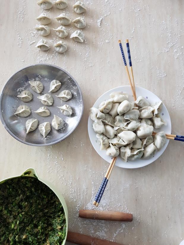 Selina Xu CNY dumplings