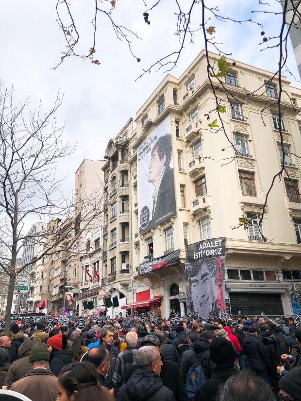 Hrant Dink protest 2020