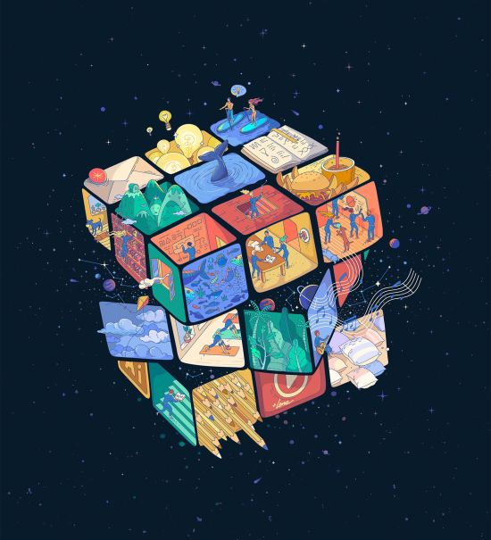 life is a rubik's cube